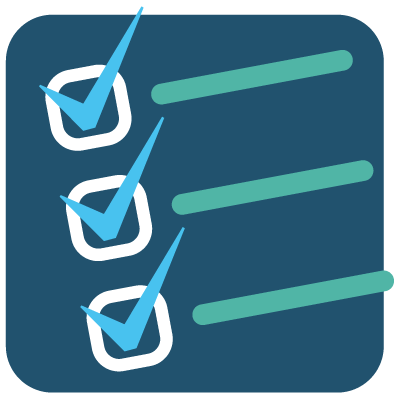 Action strategies icon