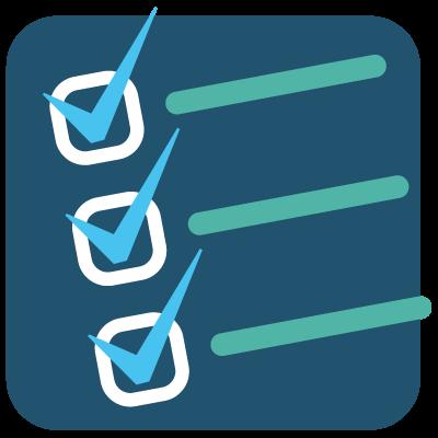 Icona di strategie d'azione