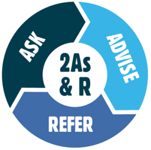 2As & R: Ask, Advise, Refer