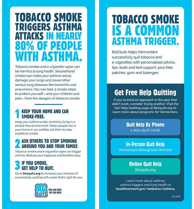 Asthma Rack Card